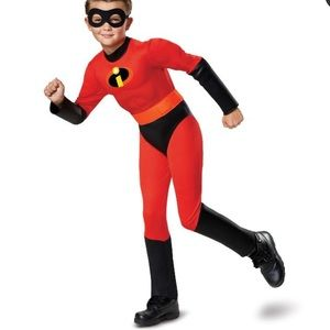 The Incredibles Dash Costume NWT